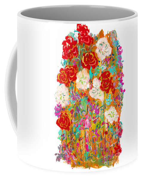Contemporary Coffee Mug featuring the painting Kimono by Bjorn Sjogren