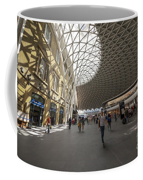 Abstract Coffee Mug featuring the photograph Kings Cross by Svetlana Sewell