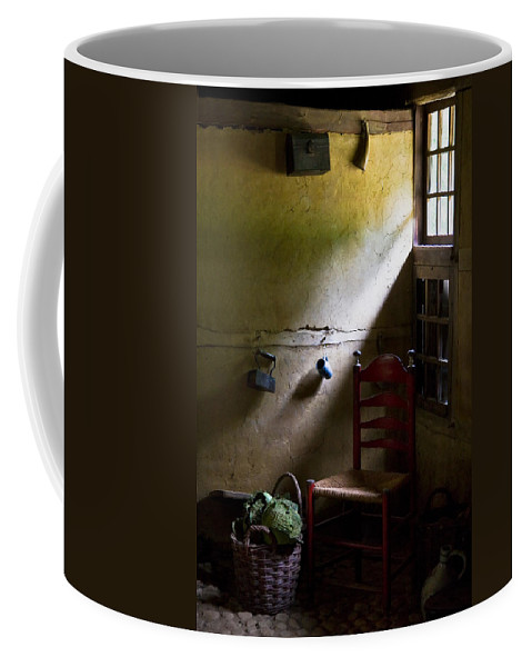 Dutch Kitchen Coffee Mug featuring the photograph Kitchen Corner by Dave Bowman