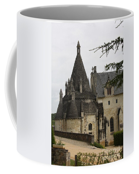 Kitchen Coffee Mug featuring the photograph Kitchenbuilding - Fontevraud by Christiane Schulze Art And Photography