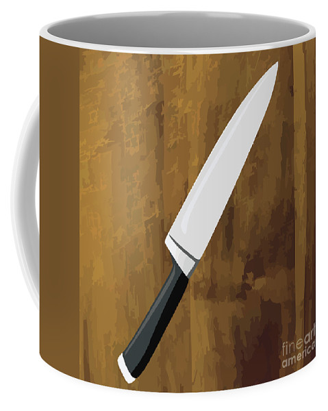 Blade Coffee Mug featuring the photograph Knife by Tim Hester