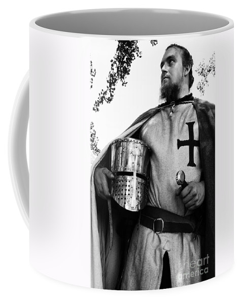 Knight In Shining Armour Coffee Mug featuring the photograph Knight 3 by Bob Christopher