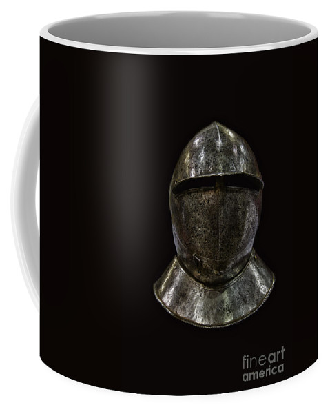 Helmet Coffee Mug featuring the photograph Knight by Margie Hurwich