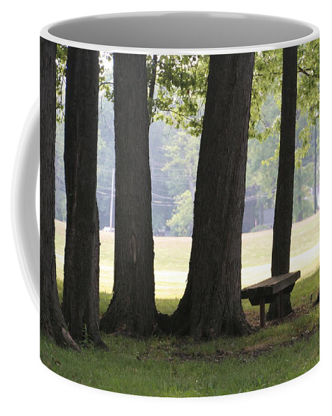 Kent Coffee Mug featuring the photograph Ksu Ashtabula Campus Park by Valerie Collins