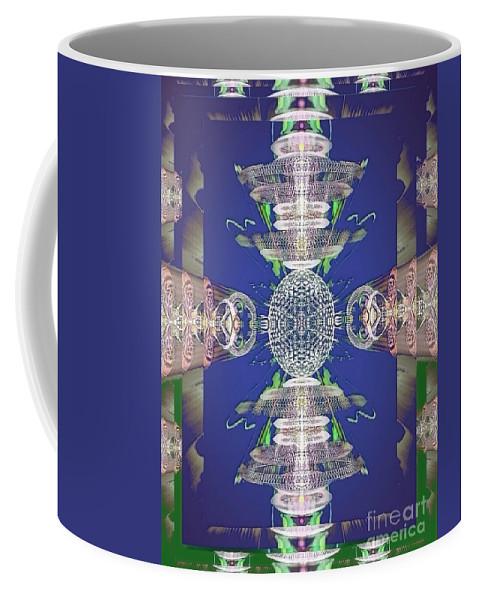 Angel Coffee Mug featuring the digital art Kyle by Raymel Garcia