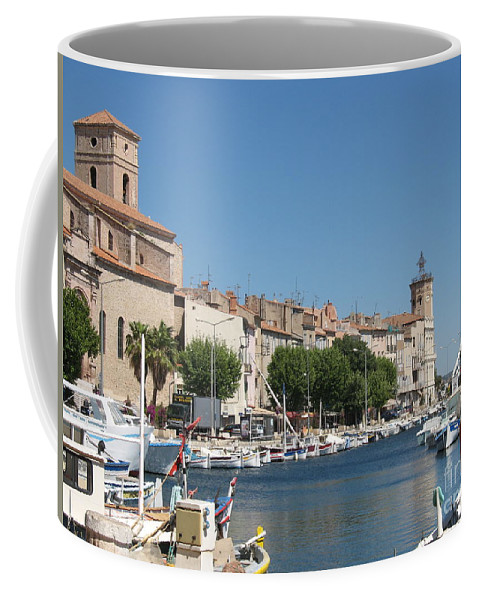 Habor Coffee Mug featuring the photograph La Ciotat Harbor by Christiane Schulze Art And Photography