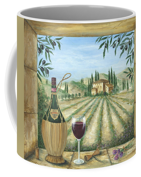 Tuscany Coffee Mug featuring the painting La Dolce Vita by Marilyn Dunlap