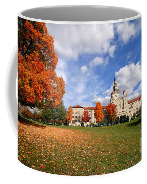 Sisters Of Divine Providence Coffee Mug featuring the photograph La Roche College On A Fall Day by Amy Cicconi