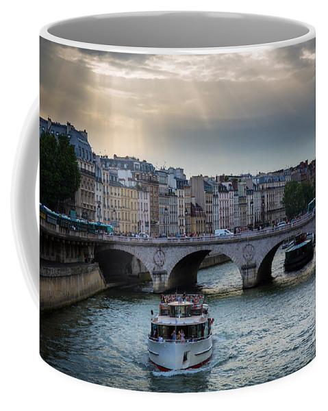 Europa Coffee Mug featuring the photograph La Seine by Inge Johnsson