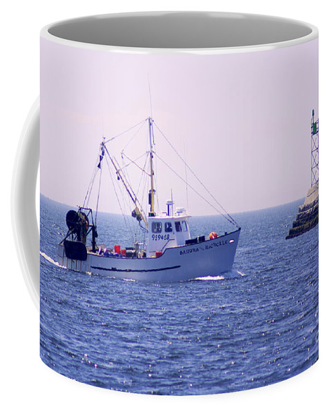 Commercial Coffee Mug featuring the photograph Laden by Joe Geraci