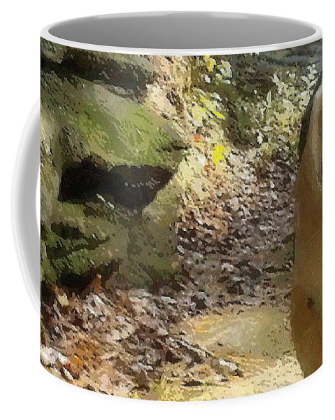 Dog Coffee Mug featuring the photograph Lady 17 by April Patterson