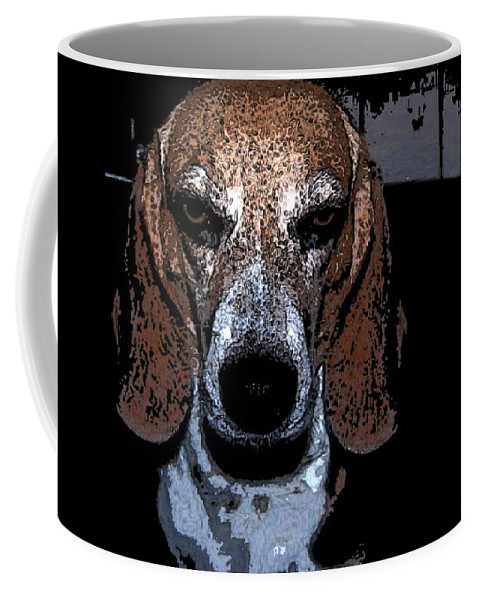Beagle Coffee Mug featuring the photograph Lady 3 by April Patterson