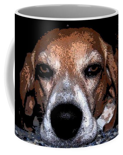 Beagle Coffee Mug featuring the photograph Lady 5 by April Patterson