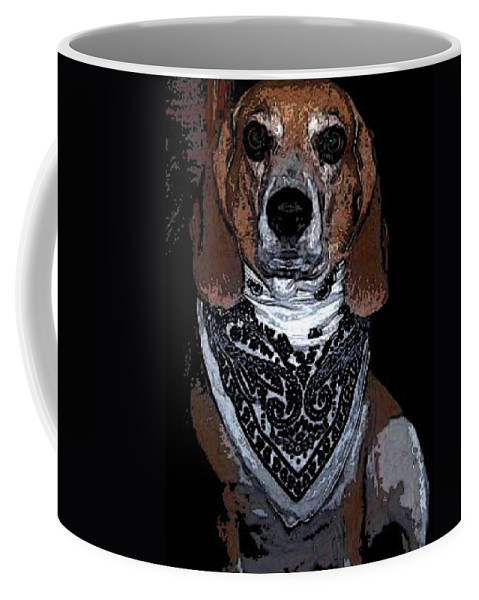 Dog Coffee Mug featuring the photograph Lady 6 by April Patterson