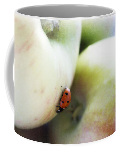 Fruit Coffee Mug featuring the photograph Lady On The Macs by Lisa Knechtel