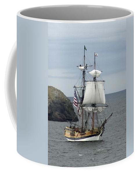 Lady Washington Coffee Mug featuring the photograph Lady Washington by Betty Depee