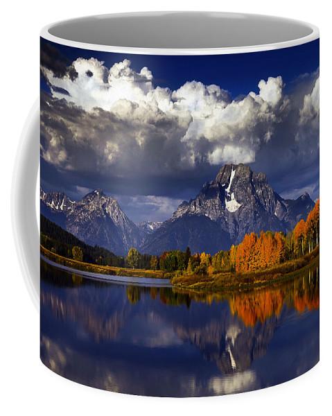 Lake Coffee Mug featuring the photograph Lake 14 by Ingrid Smith-Johnsen