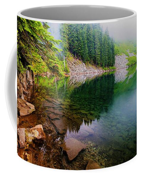 Lake Coffee Mug featuring the photograph Lake 8 by Ingrid Smith-Johnsen