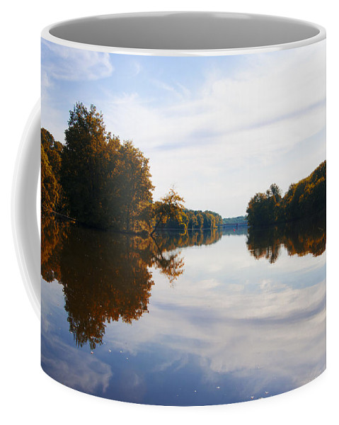 Lake Coffee Mug featuring the photograph Lake Carnegie Princeton by Bill Cannon