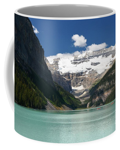 Glaciers Coffee Mug featuring the photograph Lake Louise by Deanna Cagle