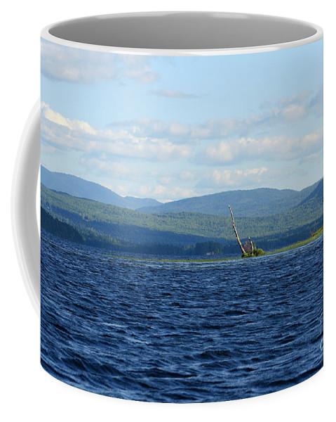 Lake Coffee Mug featuring the photograph Lake Umbagog Choppy Waters by Neal Eslinger