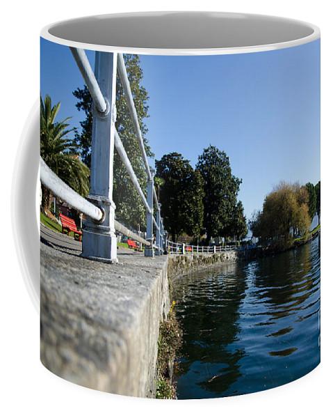 Lake Coffee Mug featuring the photograph Lakeside by Mats Silvan