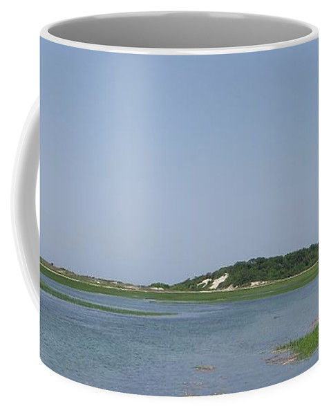 Provincetown Coffee Mug featuring the photograph Land's End Dunes by Michelle Welles