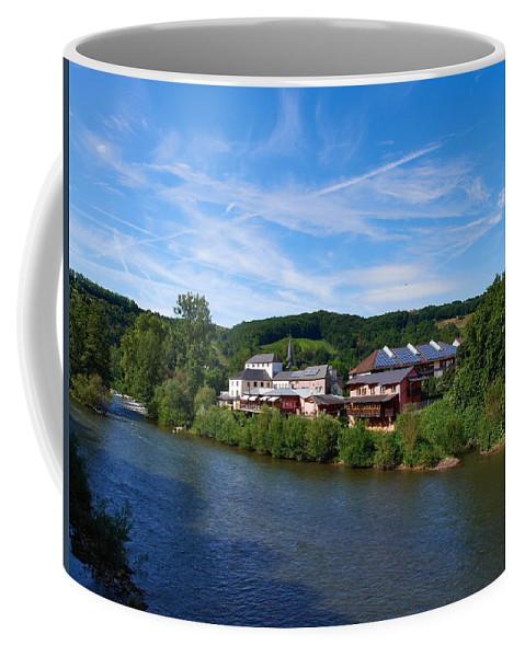 Lehto Coffee Mug featuring the photograph Langsur Germany From Luxemburg by Jouko Lehto