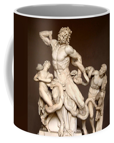 Laocoon And Sons Coffee Mug featuring the photograph Laocoon And Sons by Ellen Henneke