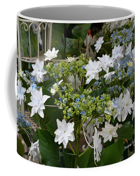 Shooting Star Bouquet Coffee Mug featuring the photograph Shooting Star Bouquet by Jeannie Rhode