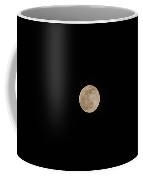 Moon Coffee Mug featuring the photograph Last Blue Moon Of 2009 by Rob Hans