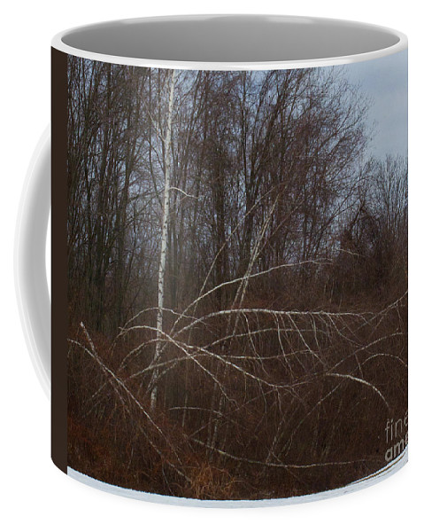 Trees Coffee Mug featuring the photograph Last Man Standing by Ray Konopaske