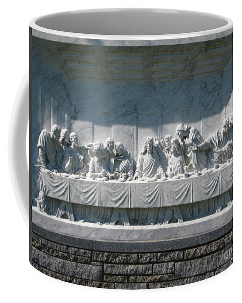Art For The Wall...patzer Photography Coffee Mug featuring the photograph Last Supper by Greg Patzer