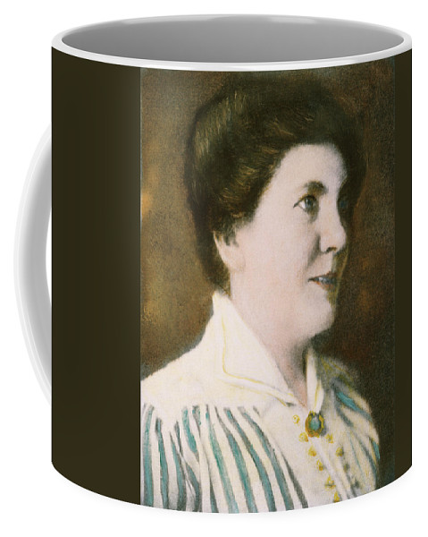 1917 Coffee Mug featuring the photograph Laura Ingalls Wilder (1867-1957) by Granger