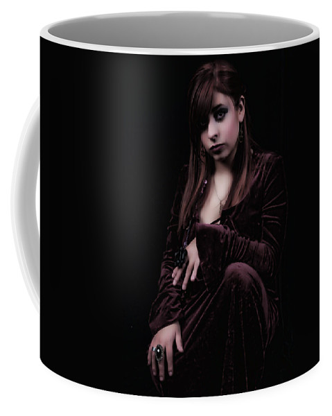 Witch Coffee Mug featuring the photograph Laura Witch by Agustin Uzarraga