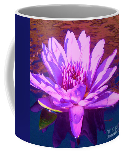 Lavender Coffee Mug featuring the photograph Lavender Lily by Eric Schiabor