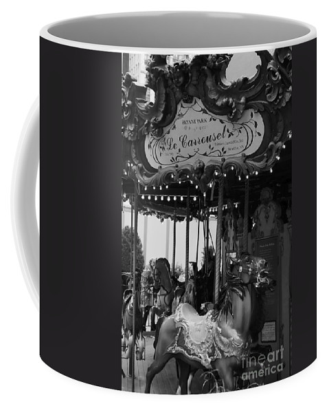 New York City Coffee Mug featuring the photograph Le Carrousel by David Rucker