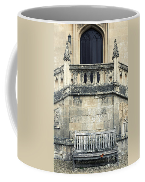 Abbey Coffee Mug featuring the photograph Leaf by Svetlana Sewell