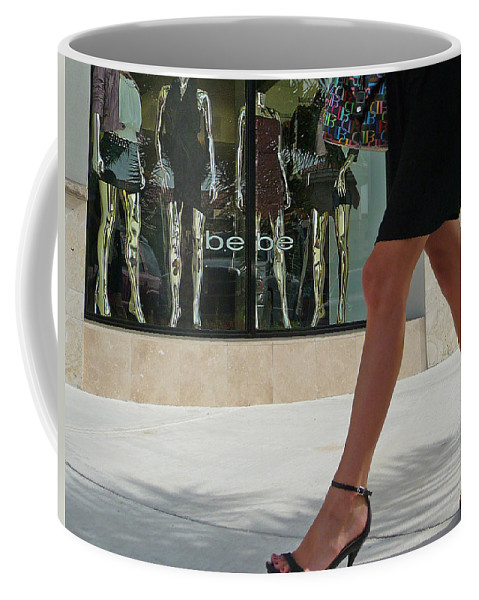 Legs Coffee Mug featuring the photograph Legs by Dart and Suze Humeston