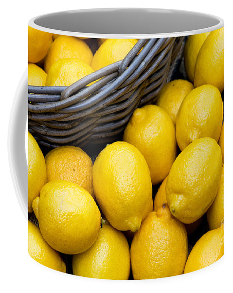 Lemons Coffee Mug featuring the photograph Lemons 01 by Rick Piper Photography