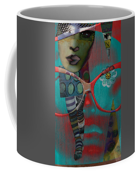 Abstract Coffee Mug featuring the photograph Lenient Transfers by The Artist Project