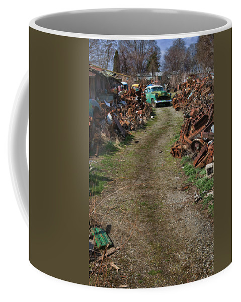Vehicles Coffee Mug featuring the photograph Let Me Out by Paul DeRocker