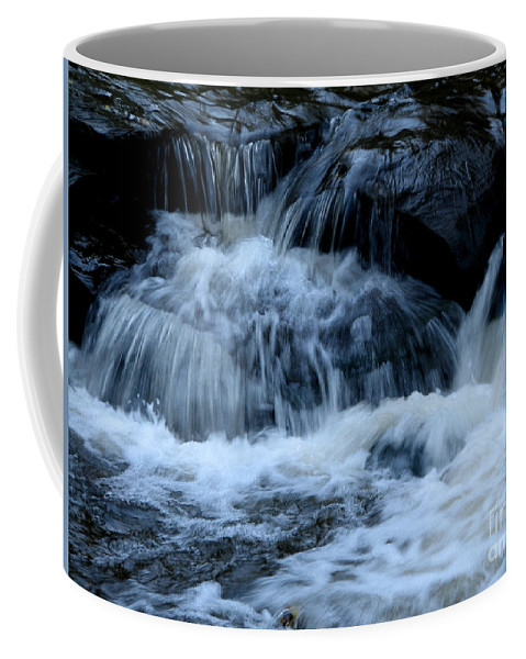 Genesee River Coffee Mug featuring the photograph Letchworth State Park Genesee River Cascades by Rose Santuci-Sofranko