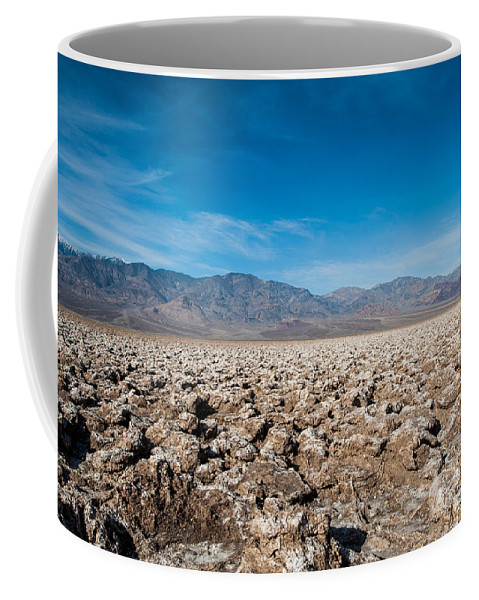 Death Valley Coffee Mug featuring the photograph Let's Play Golf by George Buxbaum