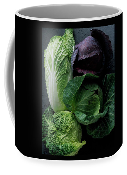 Fruits Coffee Mug featuring the photograph Lettuce by Romulo Yanes