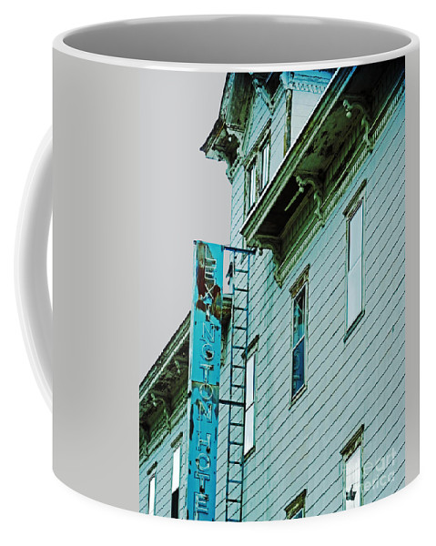 Hotel Coffee Mug featuring the photograph Lexington Hotel Lexington New York by Lizi Beard-Ward