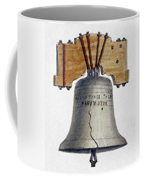 1840 Coffee Mug featuring the photograph Liberty Bell by Granger