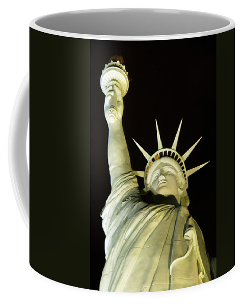 Statue Of Liberty Coffee Mug featuring the photograph Liberty by Debby Richards