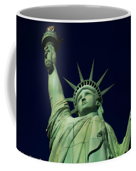 2014 Coffee Mug featuring the photograph Liberty New York Casino by Tommy Anderson