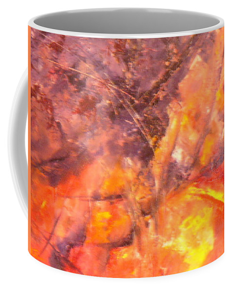 Yellow Coffee Mug featuring the painting Life II by Lord Frederick Lyle Morris